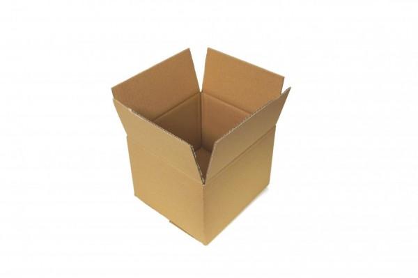 Umweltfreundlichen Verpackung doppelwellige Kartons 190x170x130mm Braun