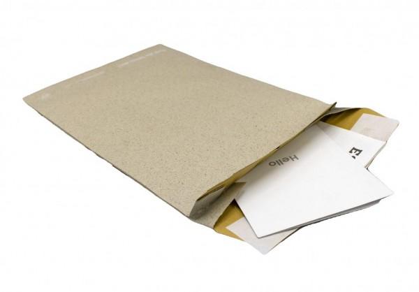 Graspapier-Polstertasche ohne Falte B5 176 x 250 mm (100 Stück)