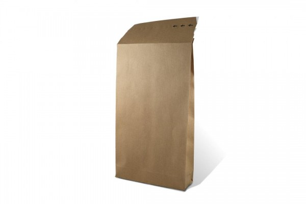 E-Commerce BIO Papierfaltentasche 250 x 353 x 50 mm (100 Stück)