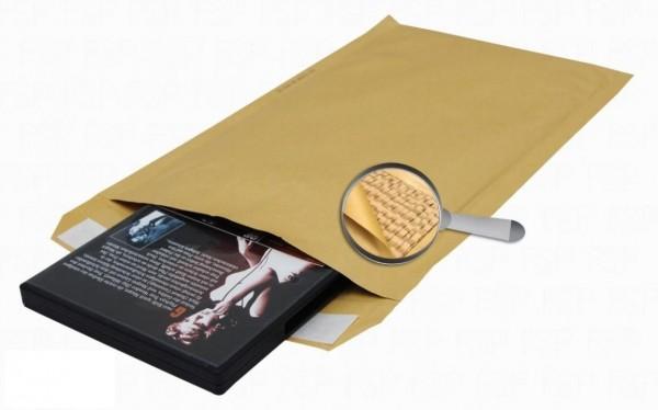Sumo Papier-Versandtasche gepolstert Gr.3 Braun 100 Stück