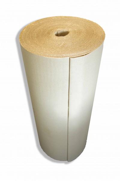 Wellpolster® Graswellpappe 100cm x 70m Wellpapprollen einwellig