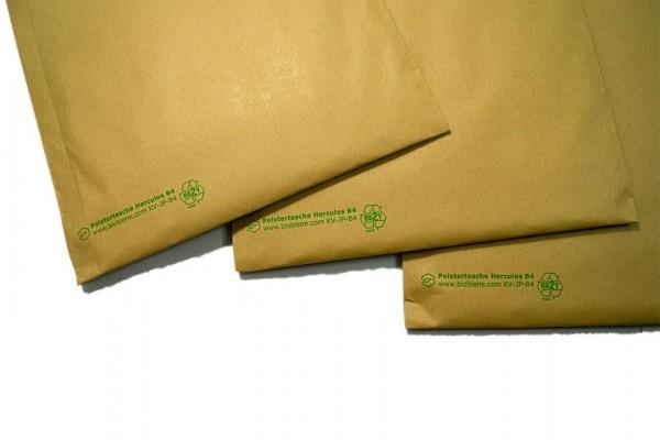 Papier Polstertasche Hercules B4 250 x 353 mm braun (100 Stück)