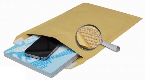 Sumo Papier-Versandtasche gepolstert Gr.D/4 Braun 50 Stück